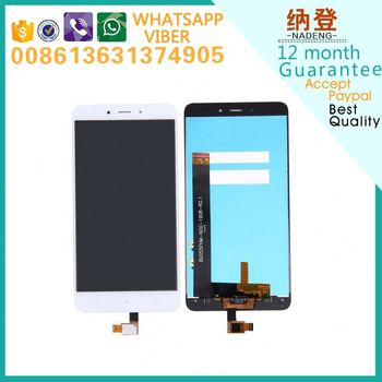 Best quality original for XiaoMi Redmi note 4 lcd touchscreen with original color