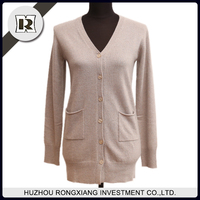 Long design fashion cardigan sweater for autumn