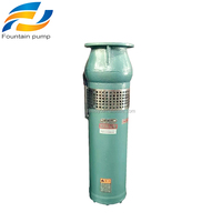 cast iron/stainless steel submersible pumps electric fountain water pump