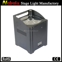 New Product 4*15W single battery powered led stage light 5in1 rgbaw wireless dmx led uplight colored uplights with IR