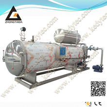 Latest Designed Hot Water Spray Retort Sterilizer Autoclave