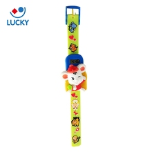 Brand new colorful cute animal silicone child Wristwatch kid watch