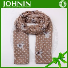 Hot selling customized cheap long scarves