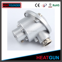 SS304 explosion proof assembly k /j/e/t type thermocouple temperature sensor with protection tube and thread with terminal head