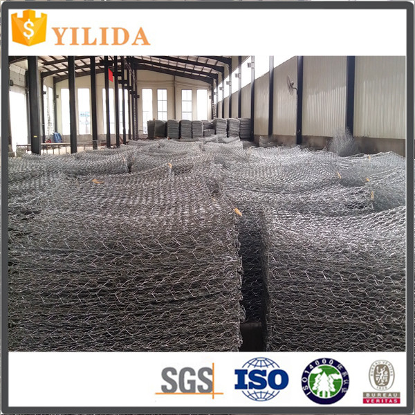 Low Price Galvanized Hexagonal Wire Mesh / Gabions box