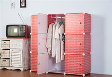 Strong and durable plastic storage for closet
