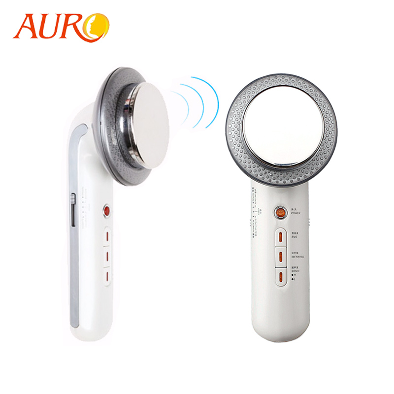 Au-011 Portable Handheld EMS BIO Far Infrared Ultrasound Facial lifting Beauty Small <strong>Device</strong>