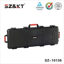 handle waterproof hard plastic carrying case with foam