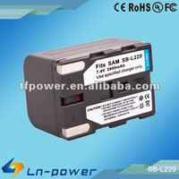 Digital Camcorder Battery Replacement for samsung SB-L220 SBL220