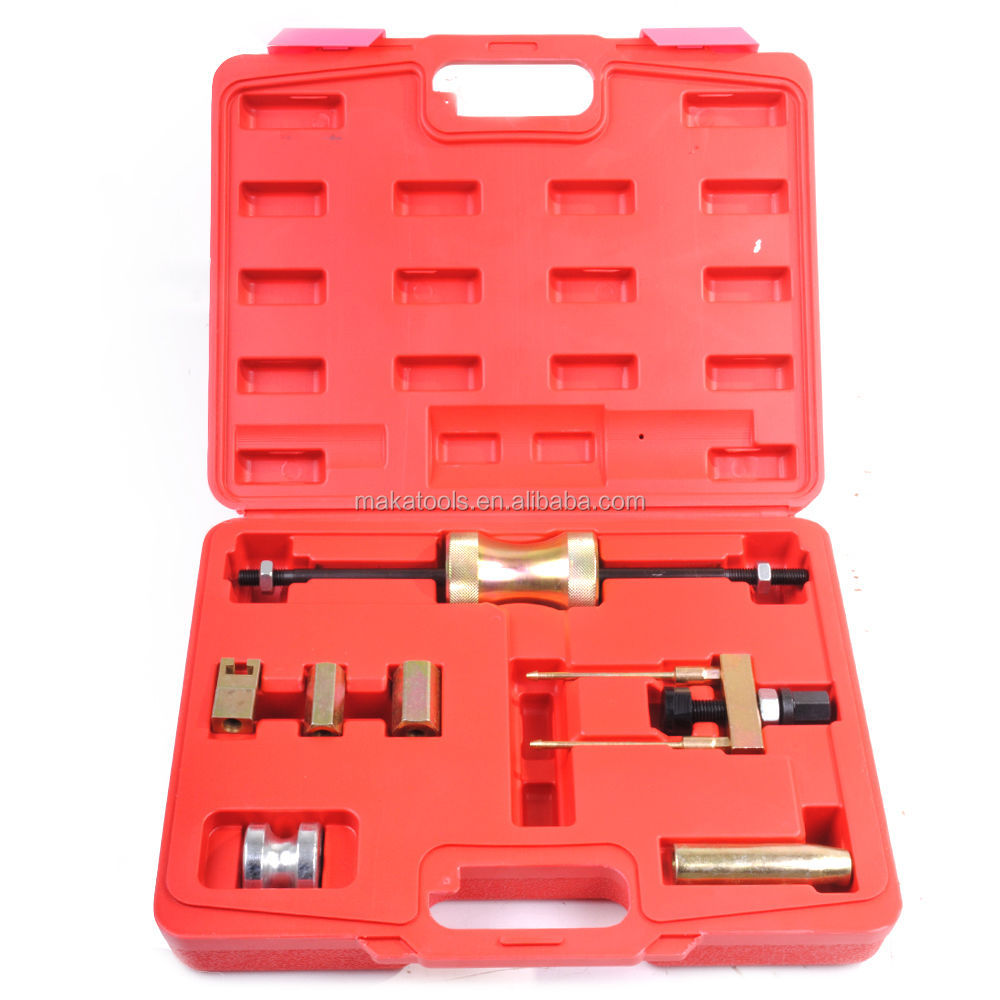 7pcs Diesel Engine Injector Puller Removal Kit Auto Tools