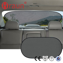 Premium Static Cling Car Rear Sunshade Auto Sun Shades Retractable
