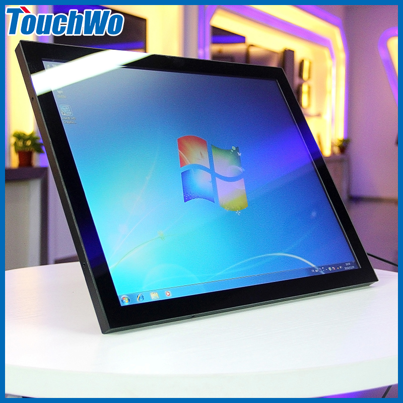 "Desktop/wall hanging 19"" all in one pc cheap touch screen monitor Resolution 1280x1024 indusrial panel pc"