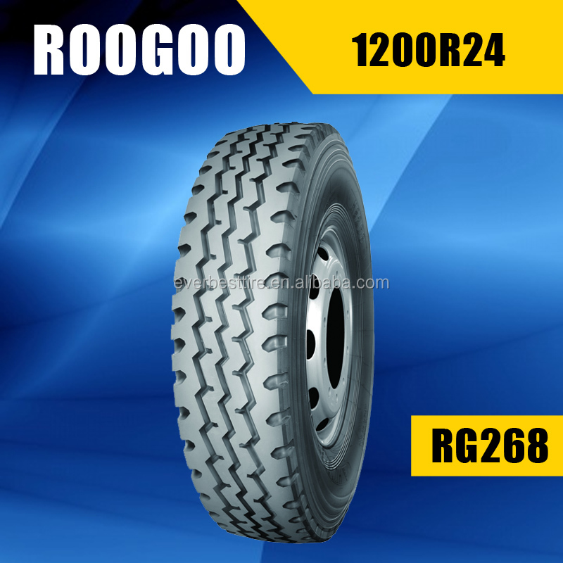 China Manufacturer Wholesale Factory Price 12.00R24 New Truck Tyre 1200r24