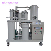 China High Quality Portable Type Waste Oil Lubricant Recycle Machine ,Vacuum Distillation Used Oil Recycling with CE