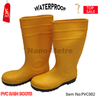 NMSAFETY cheap colorful high cut pvc rain boots safety pvc boots
