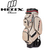 Helix golf travel case /Nylon Material Helix top sales golf bags / hard case travel bag