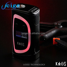 New design Sigelei Kaos Spectrum 230w temp control box mod high quality Sigelei Kaos 230w Large stock