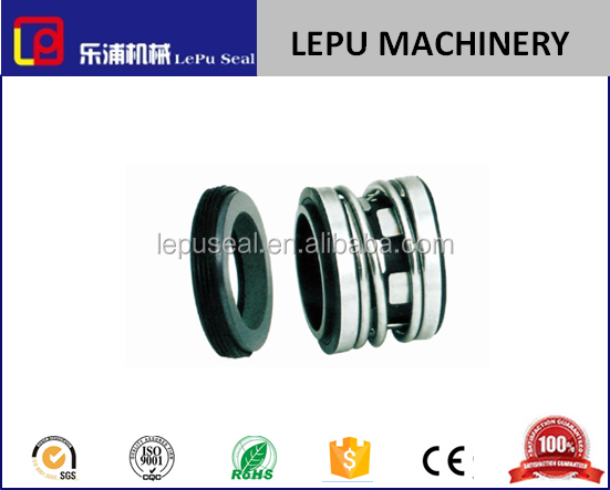 elastomer bellows John crane 2100 mechanical seal for water oil and weak corrosive pump