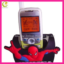 2012 New style Promotional custom eco-friendly Soft pvc/silicone mobile phone holder for bike