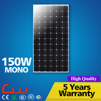 Factory directly supply IP65 solar panel 12V 150W 200W