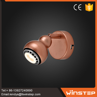 Factory price Pink indoor GU10 cafe 5w led wall lamp