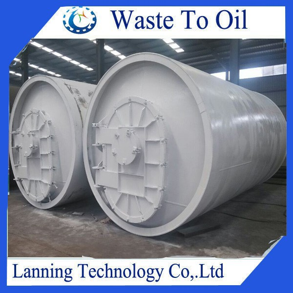 Truck /Car Tyre Recycling Machine to fuel with top quality and Eco friendly design