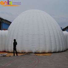 Guangzhou inflatable products, large inflatable bubble dome tent with cheap price
