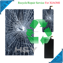For mobile phone damaged screen recycling, Fixing Buying broken Lcd + touch screen for samsung galaxy s4 i9500