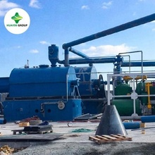 Discount!! Waste Oil Refinery Plant To Diesel Used In Generator Trucks