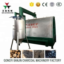 supplySmokeless Continuous Carbonization Furnace/Wood Charcoal Carbonization furnace / carbonization kiln hot sale in Indonesia