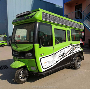 2018 best selling electric three wheel solar car for sale taxi used tricycle/adult use electric power motor passenger tricycle