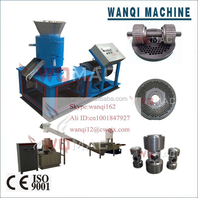 Capacity 150-1500kg/h wood pellet making machine/fertilizer pellet machine/wood pellet electric generator