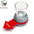 Original Indoor Alcoholic Party Shot Spinner Drinking Spin The Shot Game