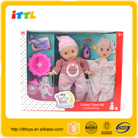 Factory direct supply 14 inch lovely baby doll with 4sounds IC