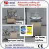 New Style Full Automatic Cooking Oil Filling And Vacuum Sealing Line 0086-18321225863