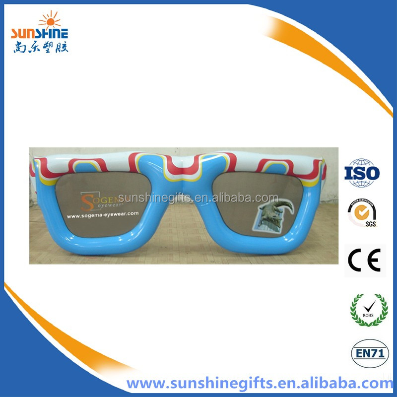 new design fancy inflatable glasses
