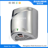 hygiene products high speed stainless steel hand dryer / hand drying machine