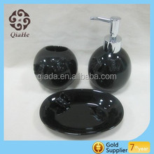 Wholesale new style round design toilet accessory with handmade butterfly design