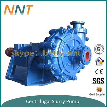 Mechanical Seal Slurry Pump for flotation lines in gold mining