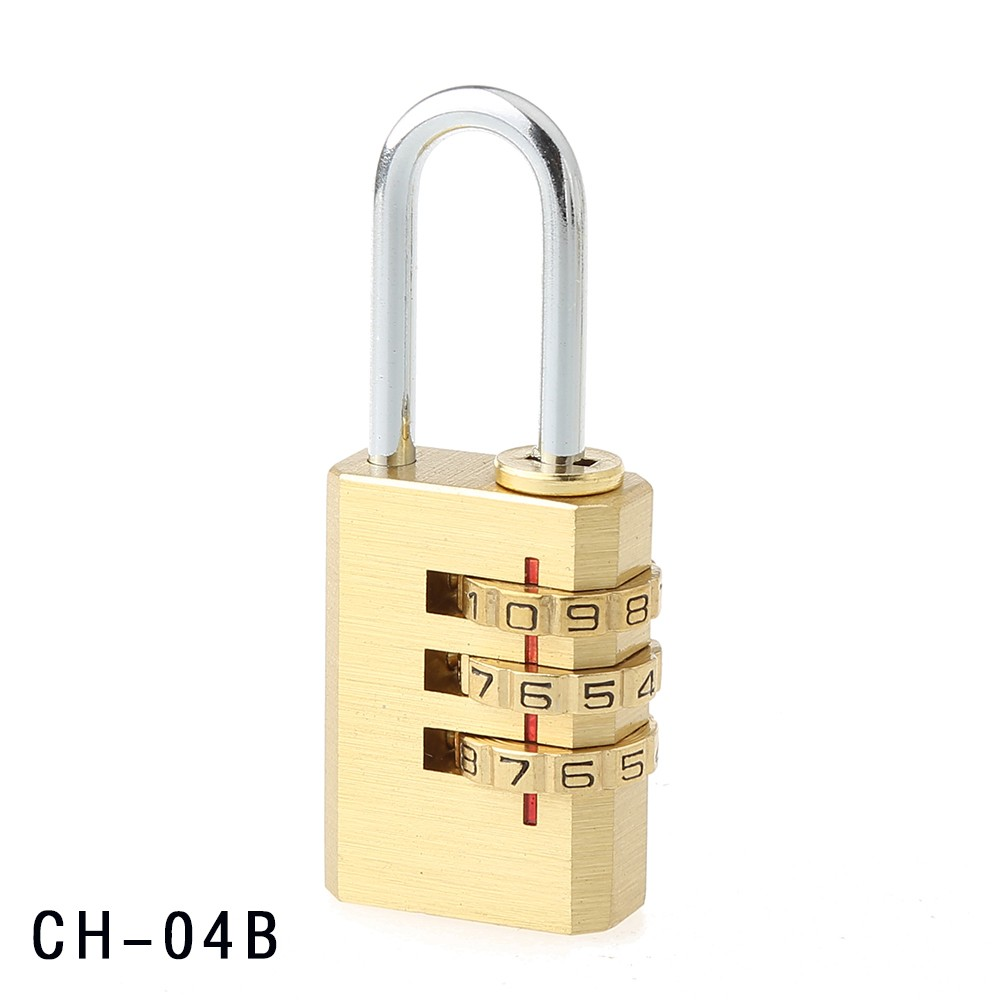 CH-04B Produce High Quality 3 digits brass lock