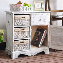 Distressed Antique White Furniture