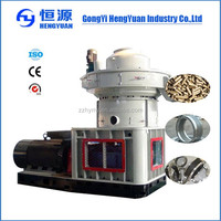 rice husk / wood / biomass waste pellet granulator machine