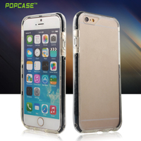High quality luminous PC+TPU+silicone case for Iphone6