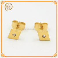 Fashion Women Jewellery Gifts Rhinestone Wholesale Earrings Cheap Fake Diamond Stud Earring