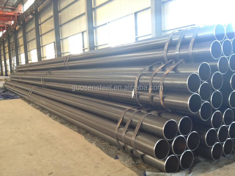 Tangshan Manufacturer Weld Steel Pipe Black Welded Steel Pipe