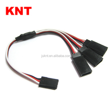KNT Hobby Car Futaba extension Lead Parallel charger 1 male 3 Female Futaba Y Cable RC servo Extension wire