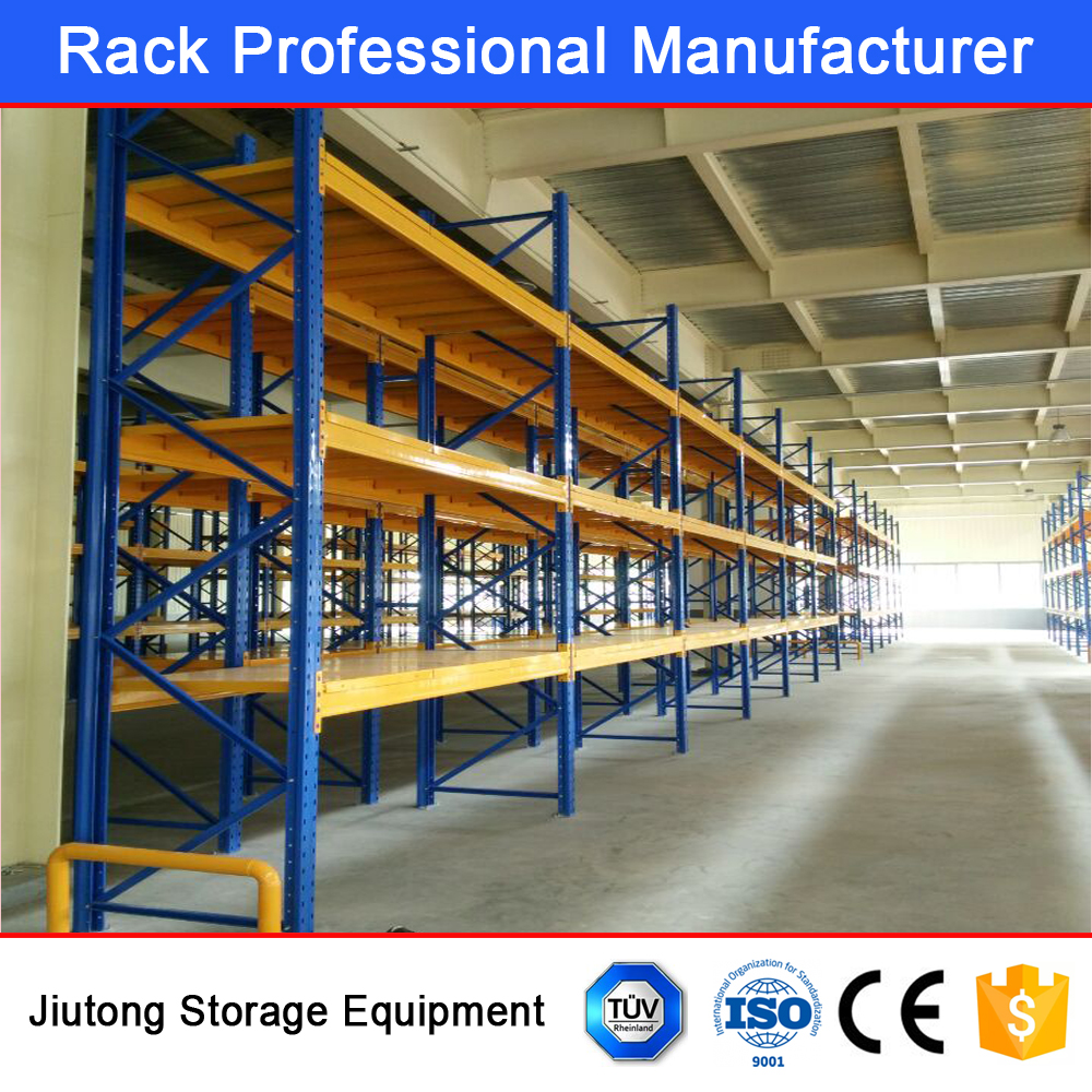CE ISO9001 Certificated Food Warehouse Rack Beam Rack