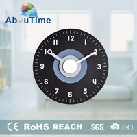 antique alarm pendulum wooden wall clock kits