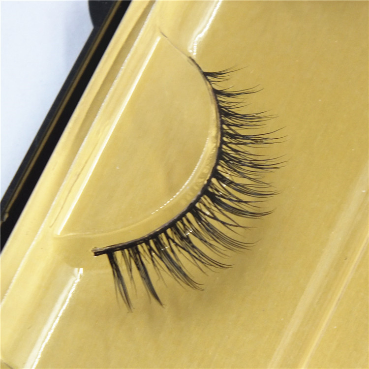 Wholesale High Quality Private Label Mink Eyelashes Silk Eyelashes Extension 06