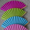 Wedding Paper Folding Fan Bride Hand
